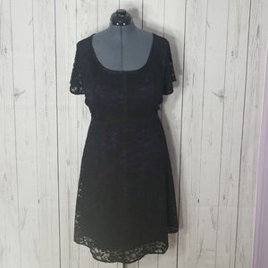 Torrid size 22 special occasion lace dress